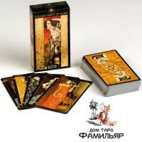 Золотое Таро Климта (Италия) Golden Tarot Of Klimt