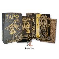 Таро Золото на черном (Италия) Tarot Gold and Black Edition