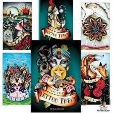 Таро Тату Восемь Монет (США) Eight Coins Tattoo Tarot