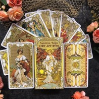 Золотое Таро Арт-Нуво | Golden Art Nouveau Tarot (Италия)