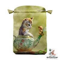 Фантастические кошки мешочек для карт Таро и оракулов