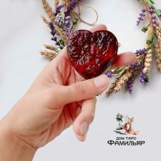Сердце полынное (очищение+защита, мыло ручной работы )